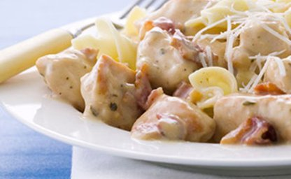 Creamy chicken ranch